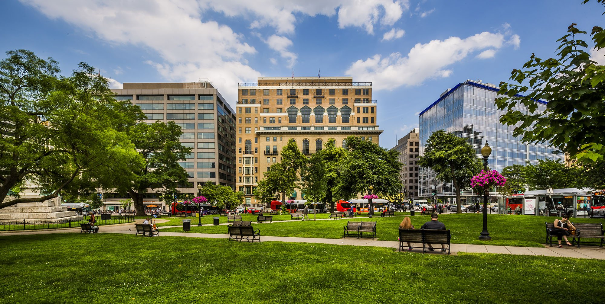 Army Navy Building in Farragut Square in Washington, DC